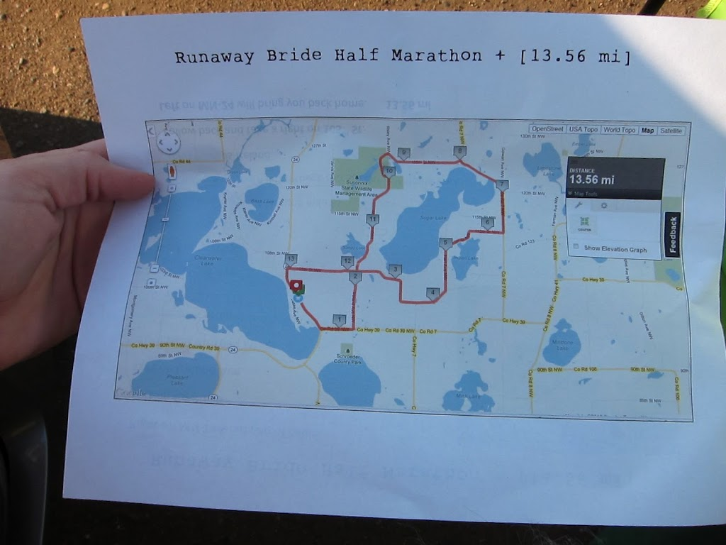 Fits On The Road In Annandale MN The Right Fits - How far did i run map