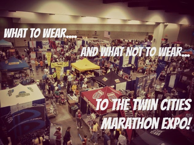 what to wear to marathon expo