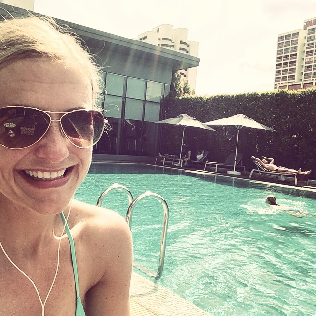 I guess this isn't so bad for December ?#singapore #sun