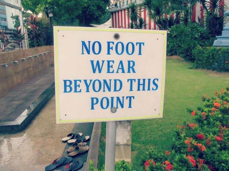 nofootwear