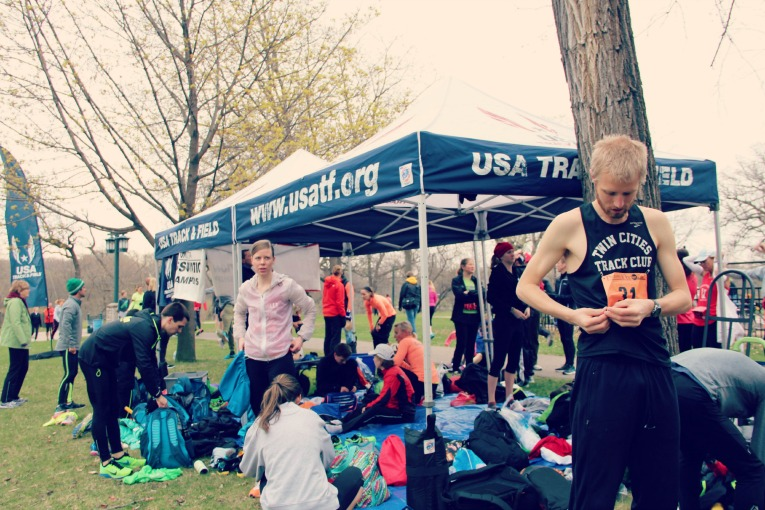 USATF Tent
