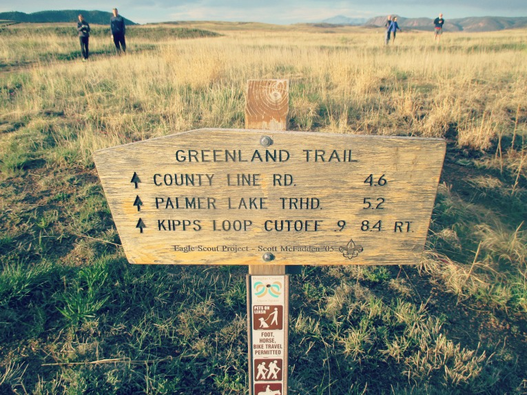 Greenland Trail Sign