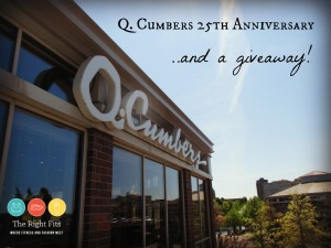 Q. Cumbers Restaurant, Corepower Yoga, and a Giveaway!