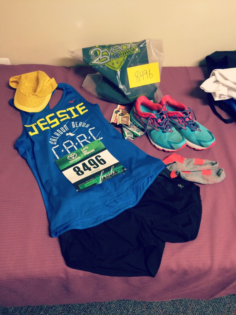 Grandmas Marathon Outfit