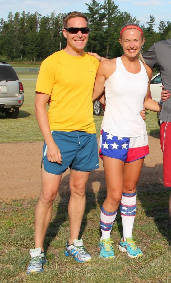 Patriotic Running Attire