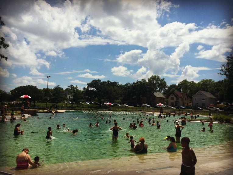 Webber Natural Pool