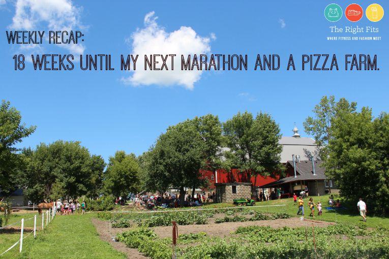 pizza farm marathon training 1
