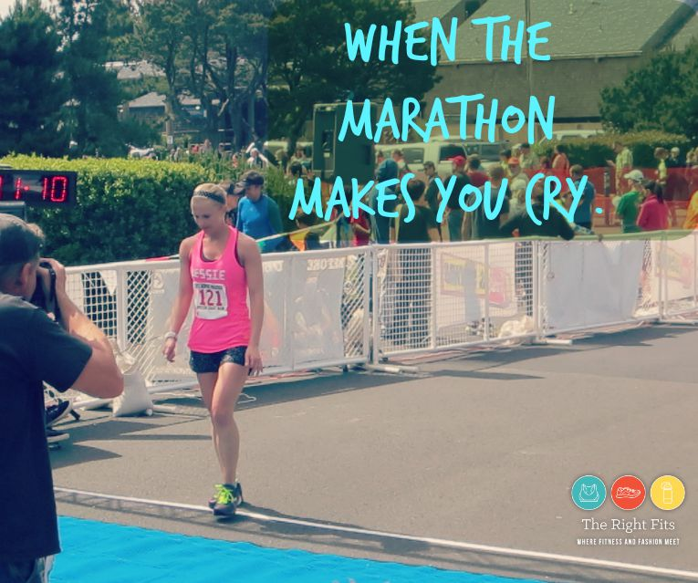 MARATHONS make you cry why