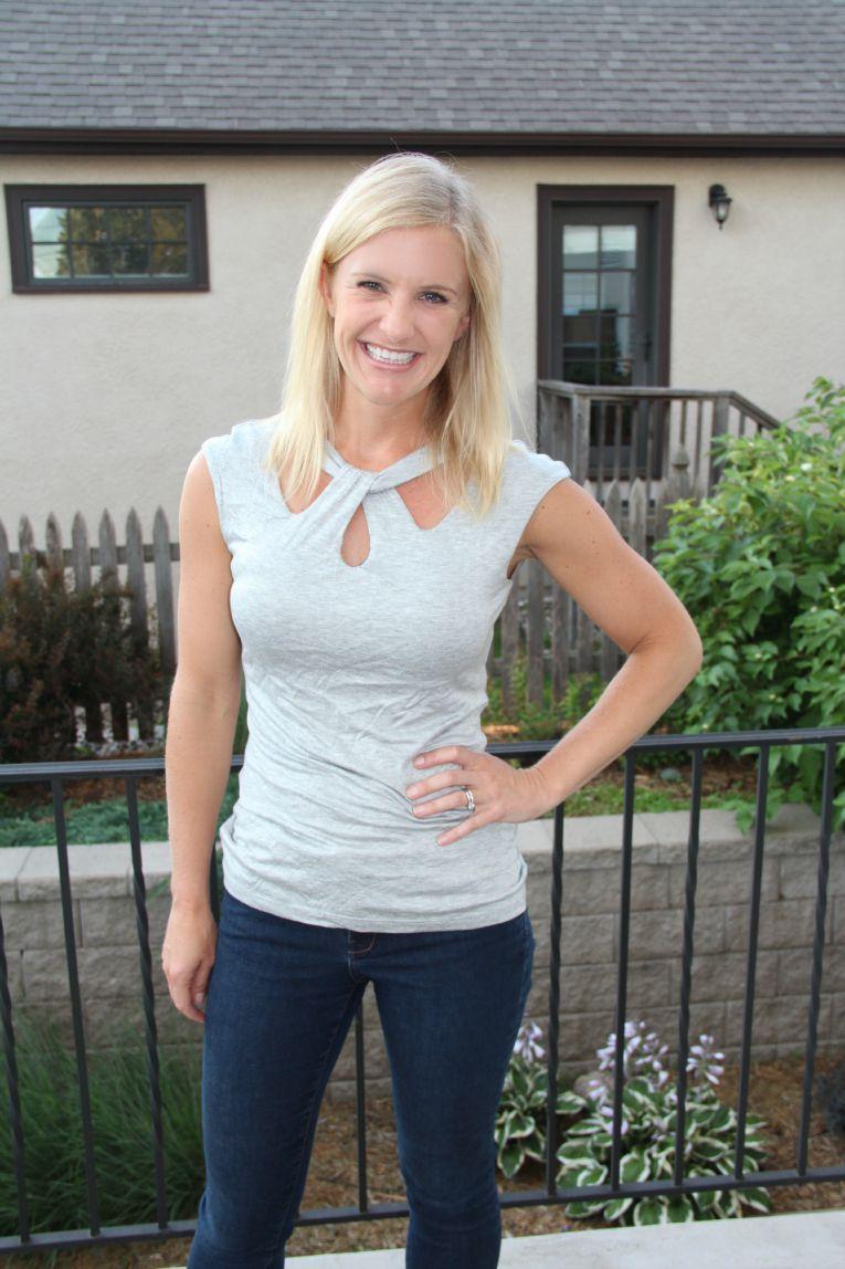 Zinia Cutout Knit Top