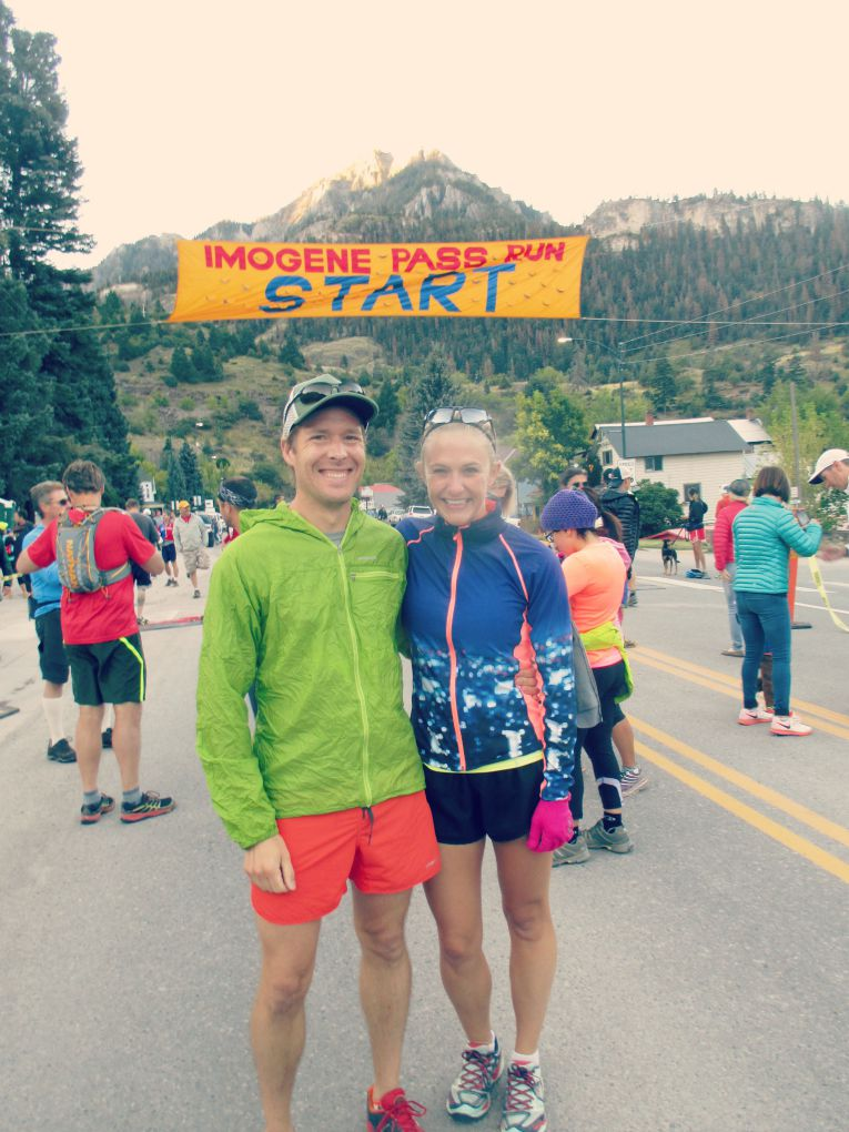 Imogene Pass Run Start Line