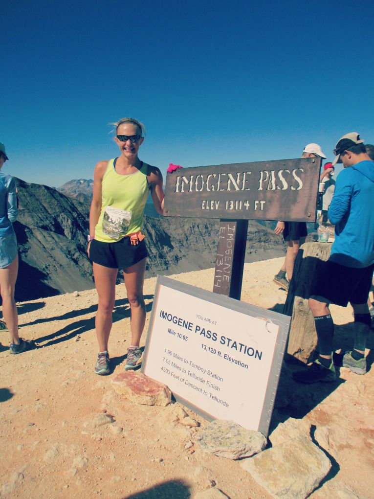 Imogene Pass Run Summit 1