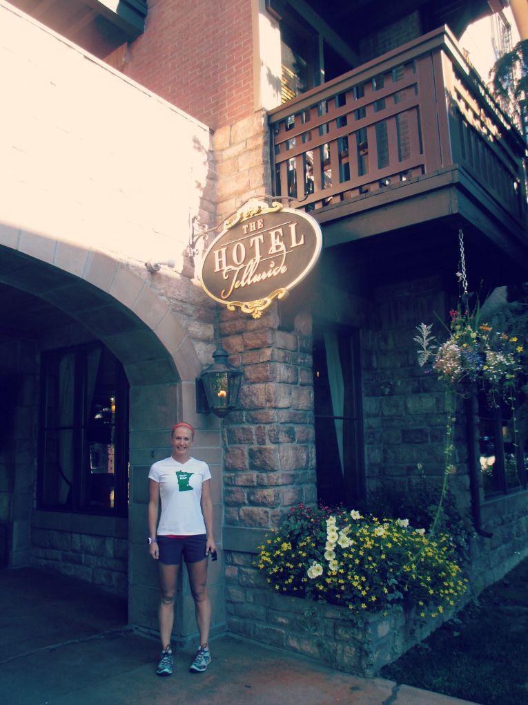 Running in Telluride