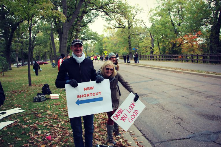 Twin Cities Marathon Spectators