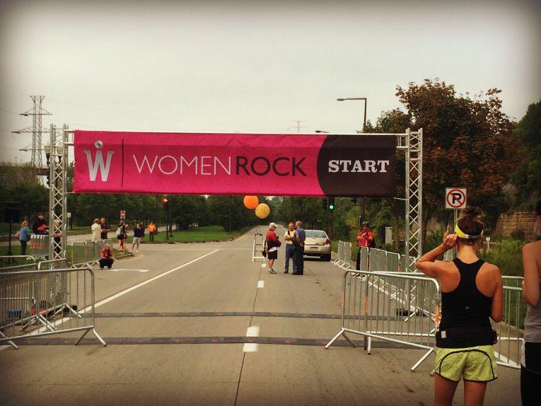 women rock start