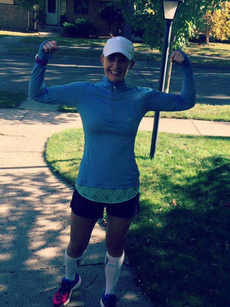 22 mile run