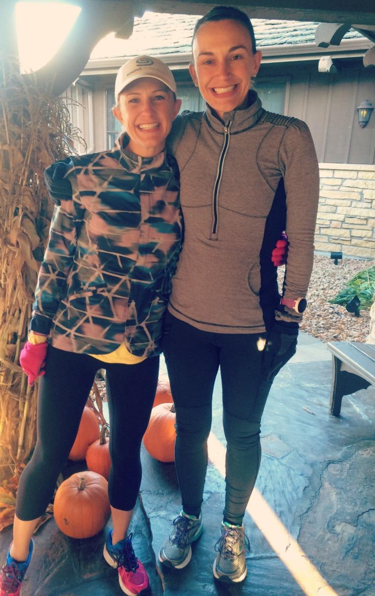 Erin and Jess run