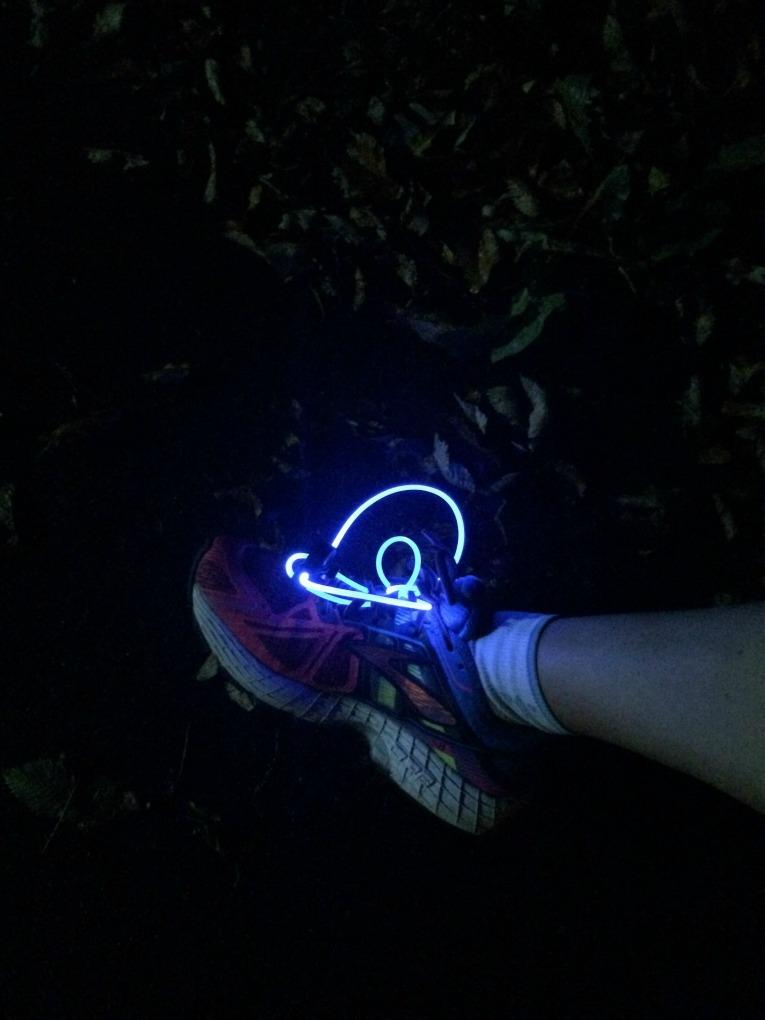 Glow Shoelaces Running
