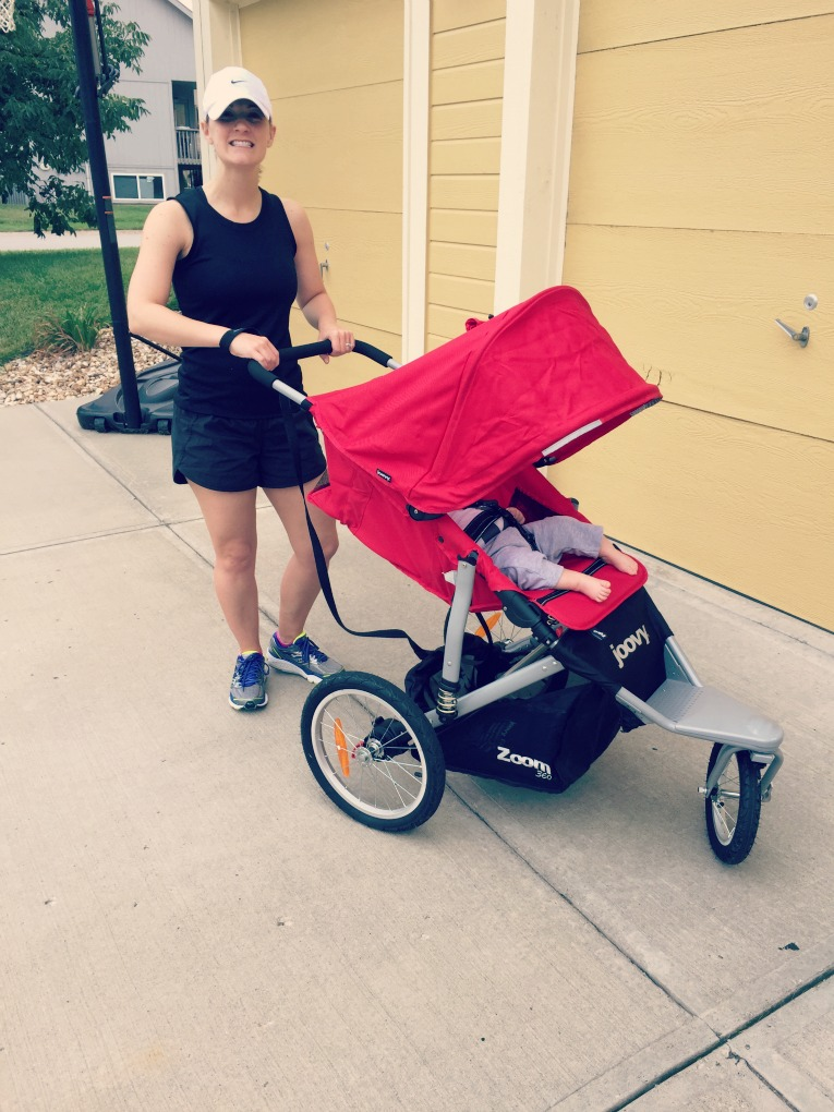 Laurie with Joovy Stroller