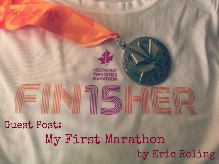 Twin Cities marathon 2015 finisher