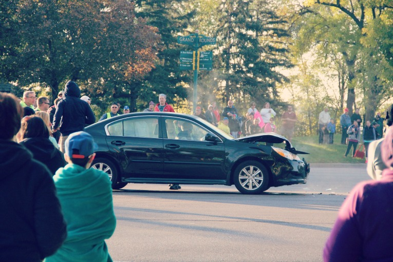 car crash TCM