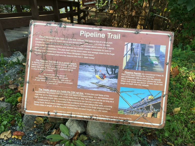 Pipeline Trail sign