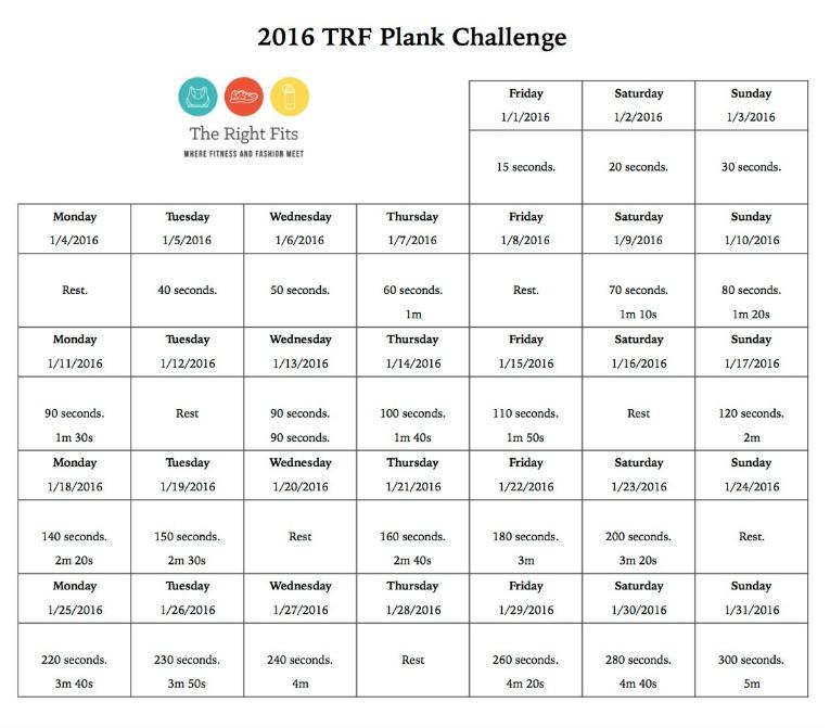 Plank Challenge 2016 f