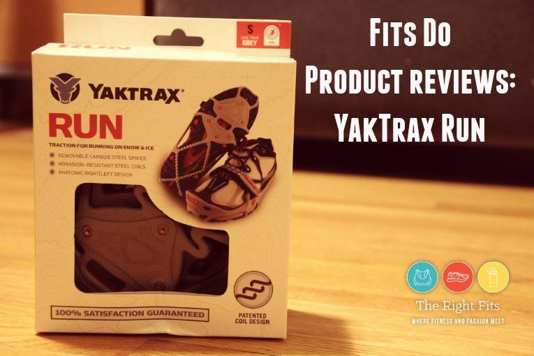 Yak Trax Run 1