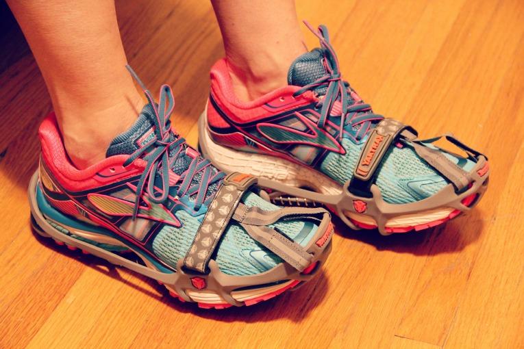 YakTrax Run on Shoes
