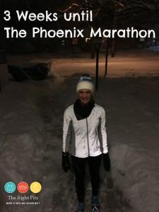 Weekly Recap: Three Weeks Until the Phoenix Marathon