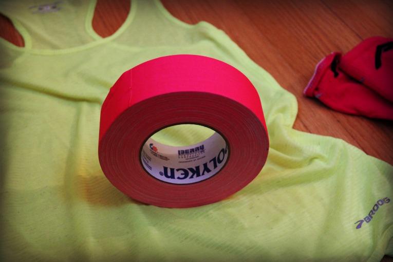name on shirt tape