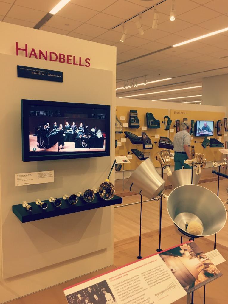 musical instrument museum handbells