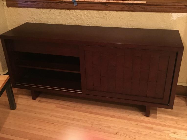 sideboard before