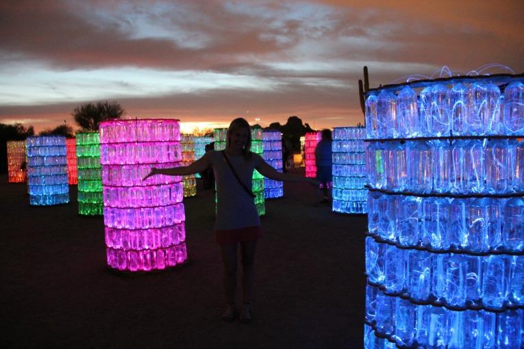 sonoran light exhibit