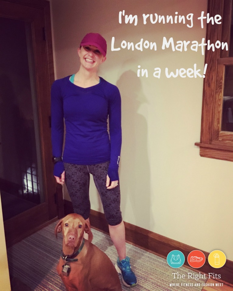 1 week London marathon 1