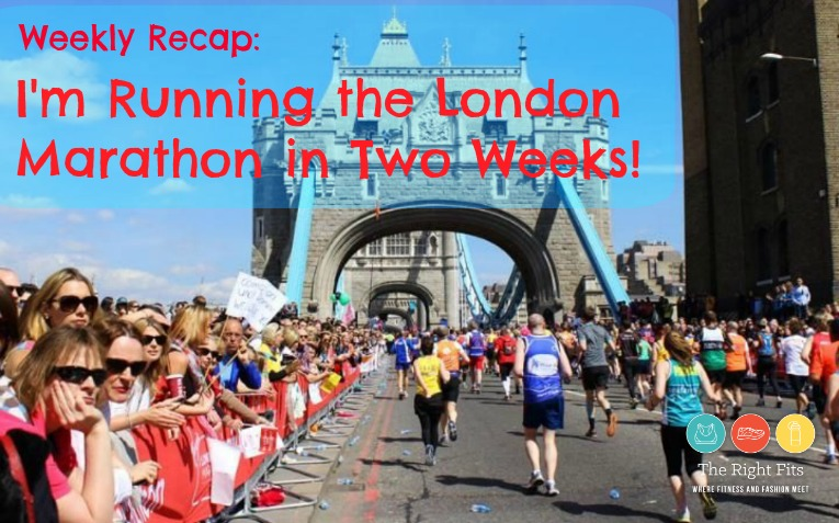 London Marathon run 2 weeks