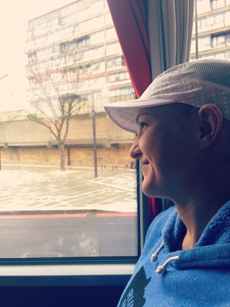 bus ride to london start