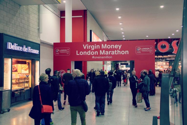 virgin money london marathon expo