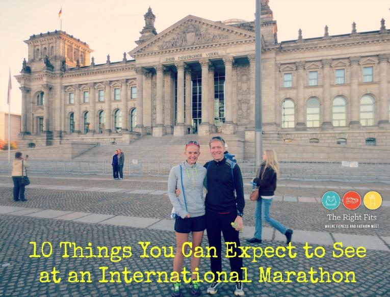 what to see at international marathon