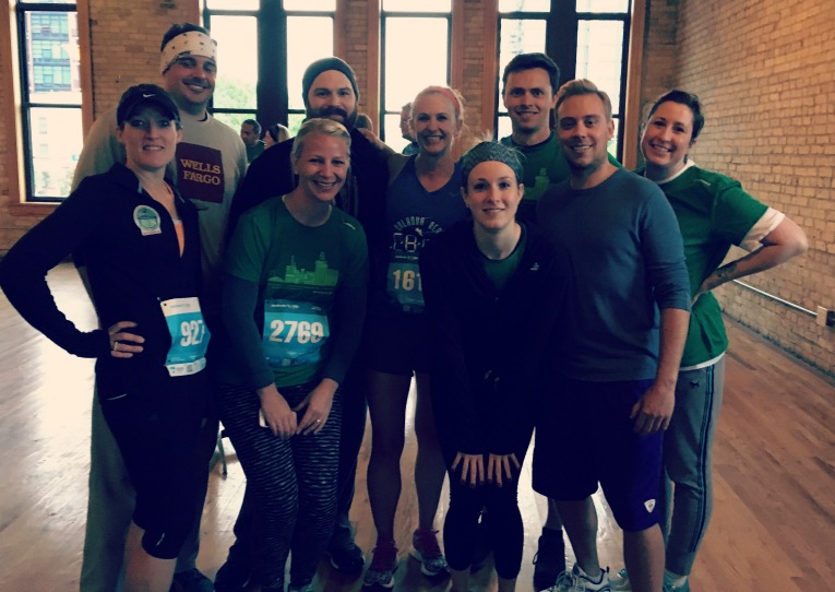 TC 1 mile team
