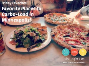 Friday Five: My FIVE Favorite Places to Carbo-Load in Minneapolis!
