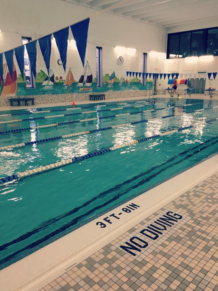 pool running pool