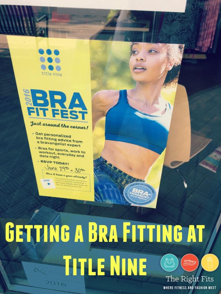 Title Nine bras