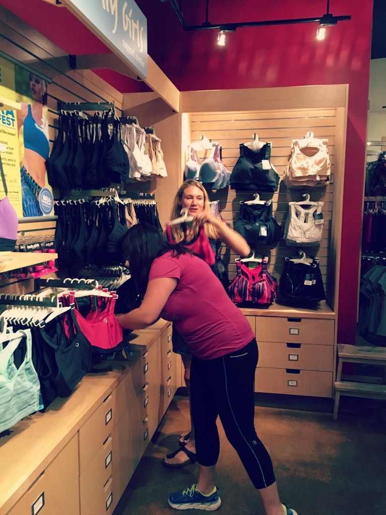 picking out bras