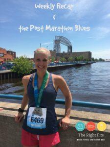 Weekly Recap & The Post-Marathon Blues.