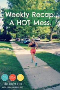 Weekly Recap:  A Hot Mess…