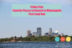 Friday Five Favorites: Post-Long Run Brunch Spots in Minneapolis