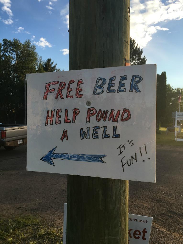 help pound well