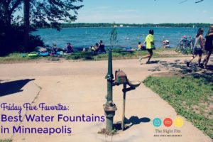 Friday Five Favorites: Best Water Fountains in Minneapolis