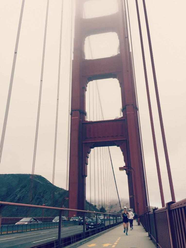 golden gate bridge run