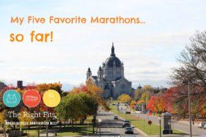 Friday Five Favorites: My Five Favorite Marathons…so far!